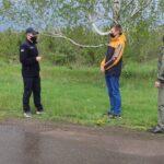 Лісова охорона Долинського лісгоспу проводить роз'яснювальну роботу серед населення