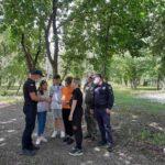Лісівники Бобринецького лісництва провели рейд по роз`ясненню правил пожежної безпеки в лісі