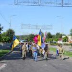 Працівники Петрівського лісництва прийняли участь у святкуванні Дня Державного Прапора України!