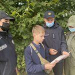 В Долинському лісництві проведено рейд щодо попередження лісових пожеж