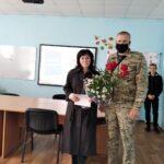 Лісничий Гурівського лісництва привітав зі святом керівника шкільного лісництва